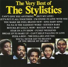 The Stylistics Very Best Of CD NEW SEALED Can't Give You Anything But My Love+