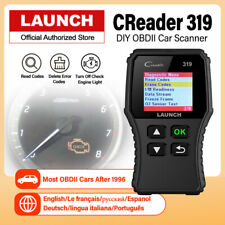 OBD2 EOBD Auto Scanner Code Reader Check Car Engine Fault Diagnostic Tool Tester