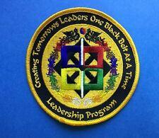 Tae Kwan Do Taekwondo Black Belt Leadership Program Martial Arts Gi Patch 528
