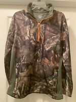 nomad southbounder Mossy Oak Camo Pull Over Jacket Hunting, Warm, Lightweight