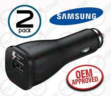 2x NEW Samsung OEM EP-LN915U Fast Car Charger for All USB Mobile Devices - lot