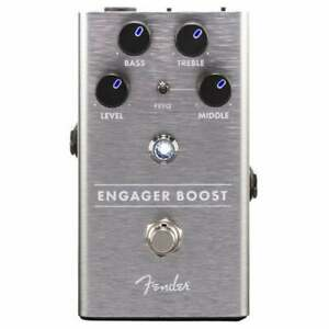 Fender Engager Boost Guitar FX Pedal