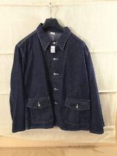 Us Army ww2 vintage Jacket work m1940 Blue Denim Jeans chaqueta Workwear us42