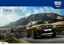 Dacia Duster 04 / 2016 catalogue brochure + Urban Explorer & Open s. limitee
