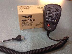 YAESU MH59A8J REMOTE CONTROL MIC WITH DTMF FOR FT-857 RANGE GENUINE YAESU