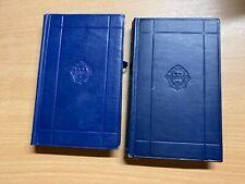 "1937 ANTHONY TROLLOPE ""PHINEAS FINN"" VOLUMES 1 & 2 FICTION HARDBACK BOOKS (P3)"