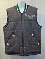 NWT Philadelphia Eagles Mitchell & Ness 2XL NFL Vest Jacket Throwback Logo 2XL