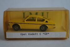 "I.M.U. Modellauto 1:87 H0 Opel Kadett C ""SR"" handlackiert"