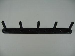 Gerätehalter Trensenhalter schwarz für 4 Geräte 60 cm Stubbs Made in England