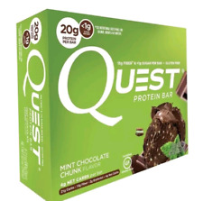 Quest Mint Chocolate Chunk Protein Bars