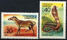 Turkmenistan 1992 SG#2-3 Animals Snake MNH Set #D54799