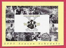 Columbus Crew 2005 Schedule MLS Soccer Futbol – Photos – Huntington Bank