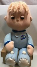 Vintage Dozzzy Doll Boy Blue Galoob Toy 1987 Rare Cassette Non-working Pjs