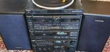 Technics SU-X101 Amp/ ST-X301L Tuner/ SL-PJ27A CD/ RS-X101 Cassette/ SL-J110R