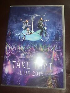 Take That Live 2015, [DVD] *New & Factory Sealed*