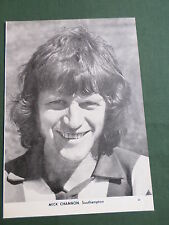 Mick Channon - Southampton Player-1 Page Picture - Clipping/Cutting