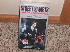 """Street Smarts:Straight Talk for Kids"" NEW VHS! Defective J.J. Bittenbinder RARE"