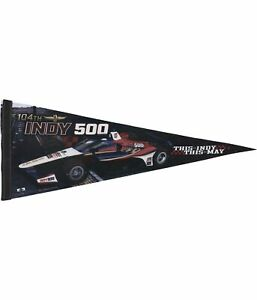 Indy 500 Unisex Event Pennant Souvenir, Multicoloured,