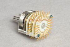 1pc Japan Seiden 2 x 23 Rotary Switch for Audio Attenuator Potentiometer