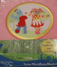 In The Night Garden ** Cot / Toddler Bed Large Microfleece Blanket (Pink) NEW!
