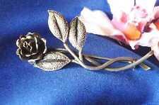 Mano trabajadas rosas broche 835er plata rosas broche Rose/tipo. m 801