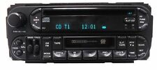 CHRYSLER JEEP DODGE Durango Ram AM FM Radio CD Tape Cassette Player RAZ RBU RBP