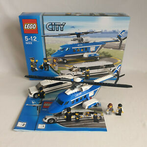 Lego City - 3222 Helicopter and Limousine