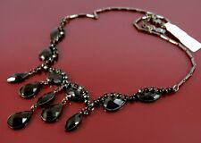 MONSOON ACCESSORIZE BLACK EVENING WEAR OR GOTHIC BIB NECKLACE. TICKET PRICE £14.