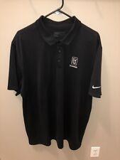 Nike Golf Polo Tpc Scottsdale Waste Management Open 2Xl Black Dri Fit Xxl