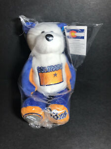 NEW Limited Treasures COLORADO State Quarter Coin Bear w/Tags RETIRED 2006 L@@K