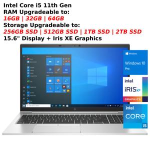 """2021 HP 15.6"""" EliteBook 850 G8 Intel i5 11th Gen - Win10 pro -Business Notebook"""