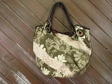 Oneill Shoulder Bag Hobo Tote Heavy Cotton Floral Nice!