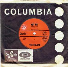 "THE ORLONS - NOT ME - RARE 7"" 45 SAMPLE VINYL RECORD - 1963"