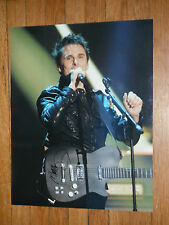 MUSE MATTHEW BELLAMY SIGNED SINGING IN MIC HOLDING GUITAR 16X20