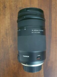 Tamron 18-400 lens with filter for Nikon