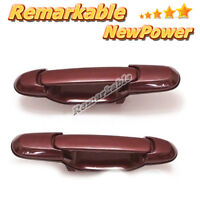 Outside Door Handle Front LH RH Burgundy Red 3M6 for 98-03 Toyota Sienna E1D41