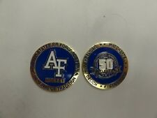 CHALLENGE COIN UNITED STATES AIR FORCE ACADEMY HOCKEY 50TH SEASON HEYLIGER DELIC