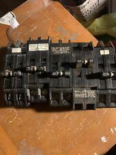 70 Amp Zinsco /60 Amp Zinsco 2 Pole Total Of 10 Breakers