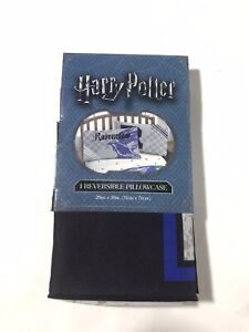 Harry Potter Ravenclaw Raven Claw Reversible Pillowcase Pillow Case New