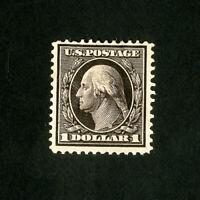 US Stamps # 342 VF Fresh top value OG HR Scott Value $450.00