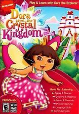 New: DORA THE EXPLORER - Saves the Crystal Kingdom (Nickelodeon) PC VIDEO GAME: