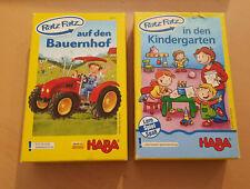HABA Ratz Fatz Bauernhof / Ratz Fatz Kindergarten