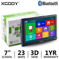 """XGODY 886 7"""" GPS with Lifetime Maps & Bluetooth FM AV-IN MP3 MP4 Function"""