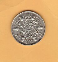 PROOF 1927 GEORGE V SILVER SIXPENCE IN MINT CONDITION.