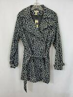 VERTIGO PARIS Women's Black/White Printed Long Sleeve Dress Plus Size 1X NWT