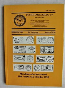 Maschinen-Serienstempel  SBZ/DDR von 1946-1990 Poststempelgilde