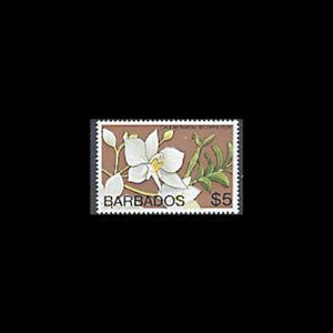 Barbados, Sc #410B, MNH, 1975, Flowers, Orchids, FAID-A