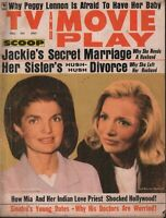 Tv and Movie Play July 1968 Jackie Kennedy Onassis Frank Sinatra 062519AME