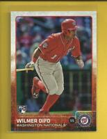 Wilmer Difo RC 2015 Topps Update Series Rookie Card # US2 Nationals Baseball MLB