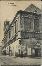 Leuven Louvain L'Université 1913